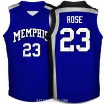 Derrick Rose Memphis Tigers #23 Limited College Basketball Youth C76 Jersey Blue