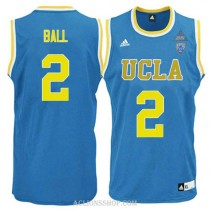 Lonzo Ball Ucla Bruins #2 Limited Adidas College Basketball Mens C76 Jersey Blue