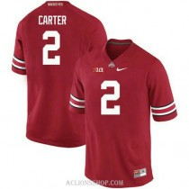 Mens Cris Carter Ohio State Buckeyes #2 Limited Red College Football C76 Jersey