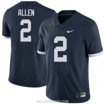 Mens Marcus Allen Penn State Nittany Lions #2 Authentic Navy College Football C76 Jersey