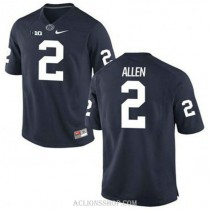Mens Marcus Allen Penn State Nittany Lions #2 New Style Authentic Navy College Football C76 Jersey