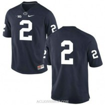Mens Marcus Allen Penn State Nittany Lions #2 New Style Authentic Navy College Football C76 Jersey No Name