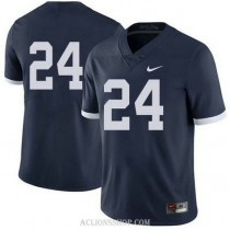 Mens Mike Gesicki Penn State Nittany Lions #24 Game Navy College Football C76 Jersey No Name