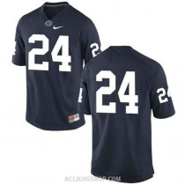 Mens Mike Gesicki Penn State Nittany Lions #24 New Style Authentic Navy College Football C76 Jersey No Name