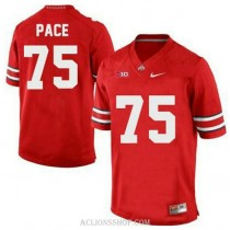 Mens Orlando Pace Ohio State Buckeyes #75 Limited Red College Football C76 Jersey