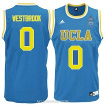 Russell Westbrook Ucla Bruins 0 Authentic Adidas College Basketball Mens C76 Jersey Blue