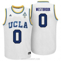 Russell Westbrook Ucla Bruins 0 Authentic Adidas College Basketball Youth C76 Jersey White
