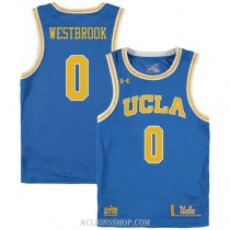 Russell Westbrook Ucla Bruins 0 Authentic College Basketball Mens C76 Jersey Blue