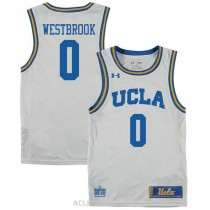 Russell Westbrook Ucla Bruins 0 Authentic College Basketball Mens C76 Jersey White