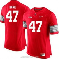 Womens Aj Hawk Ohio State Buckeyes #47 Champions Authentic Red College Football C76 Jersey