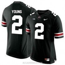 Womens Chase Young Ohio State Buckeyes #2 Authentic Black College Football C76 Jersey