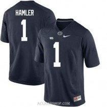 Womens Kj Hamler Penn State Nittany Lions #1 New Style Limited Navy College Football C76 Jersey