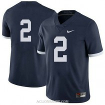 Womens Marcus Allen Penn State Nittany Lions #2 Authentic Navy College Football C76 Jersey No Name