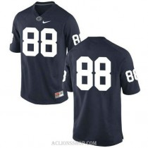 Womens Mike Gesicki Penn State Nittany Lions #88 New Style Authentic Navy College Football C76 Jersey No Name
