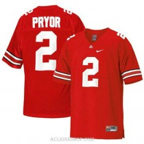 Womens Terrelle Pryor Ohio State Buckeyes #2 Limited Red College Football C76 Jersey