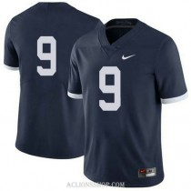 Womens Trace Mcsorley Penn State Nittany Lions #9 Authentic Navy College Football C76 Jersey No Name