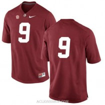Youth Amari Cooper Alabama Crimson Tide #9 Authentic Red College Football C76 Jersey No Name
