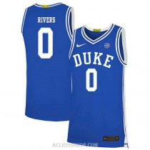 Youth Austin Rivers Duke Blue Devils 0 Limited Blue College Basketball C76 Jersey