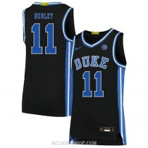 Youth Bobby Hurley Duke Blue Devils #11 Authentic Black College Basketball C76 Jersey