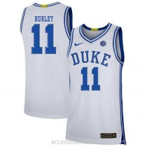 Youth Bobby Hurley Duke Blue Devils #11 Limited White College Basketball C76 Jersey