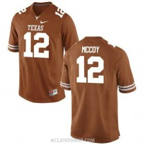Youth Colt Mccoy Texas Longhorns #12 Game Orange College Football C76 Jersey