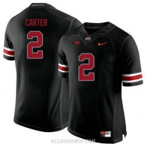 Youth Cris Carter Ohio State Buckeyes #2 Limited Black College Football C76 Jersey