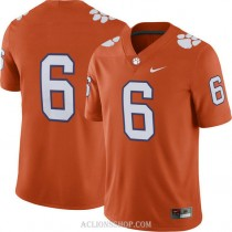 Youth Deandre Hopkins Clemson Tigers #6 Limited Orange College Football C76 Jersey No Name