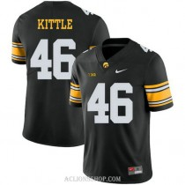 Youth George Kittle Iowa Hawkeyes #46 Authentic Black Alternate College Football C76 Jersey