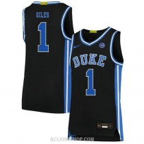 Youth Harry Giles Iii Duke Blue Devils #1 Limited Black College Basketball C76 Jersey