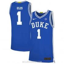 Youth Harry Giles Iii Duke Blue Devils #1 Limited Blue College Basketball C76 Jersey