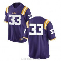 Youth Jamal Adams Lsu Tigers #33 Authentic Purple College Football C76 Jersey No Name