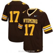 Youth Josh Allen Wyoming Cowboys #17 Game Black College Football C76 Jersey