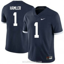 Youth Kj Hamler Penn State Nittany Lions #1 Authentic Navy College Football C76 Jersey