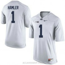 Youth Kj Hamler Penn State Nittany Lions #1 Authentic White College Football C76 Jersey