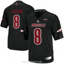 Youth Lamar Jackson Louisville Cardinals #8 Limited Black College Football C76 Jersey