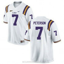Youth Patrick Peterson Lsu Tigers #7 Game White College Football C76 Jersey