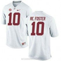 Youth Reuben Foster Alabama Crimson Tide #10 Limited White College Football C76 Jersey