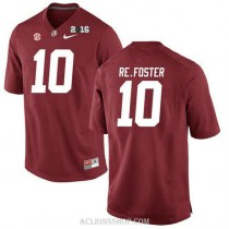 Youth Reuben Foster Alabama Crimson Tide Game 2016th Championship Red College Football C76 Jersey