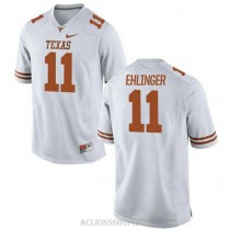 Youth Sam Ehlinger Texas Longhorns #11 Game White College Football C76 Jersey