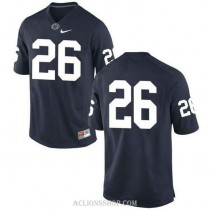 Youth Saquon Barkley Penn State Nittany Lions #26 New Style Authentic Navy College Football C76 Jersey No Name