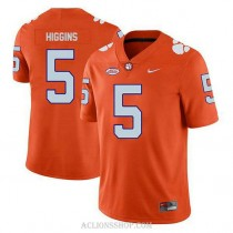 Youth Tee Higgins Clemson Tigers #5 Limited Orange College Football C76 Jersey