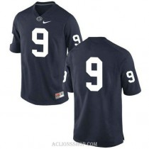 Youth Trace Mcsorley Penn State Nittany Lions #9 New Style Game Navy College Football C76 Jersey No Name