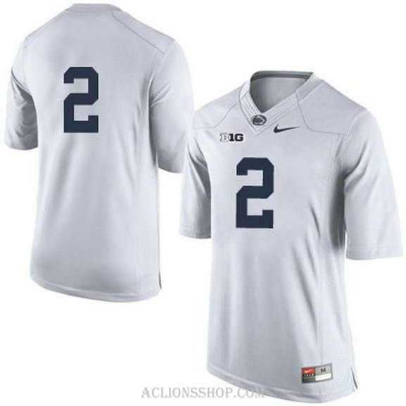 Womens Marcus Allen Penn State Nittany Lions #2 Game White College Football C76 Jersey No Name